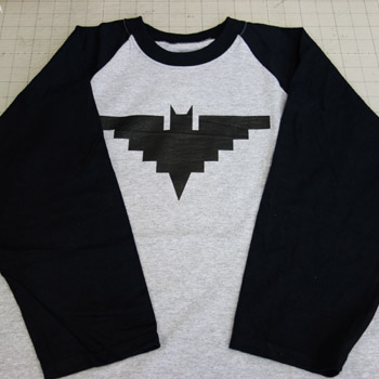 CHICANO BATMAN Baseball shirts (gray&black)