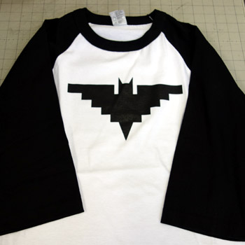 CHICANO BATMAN Baseball shirts (white&black)